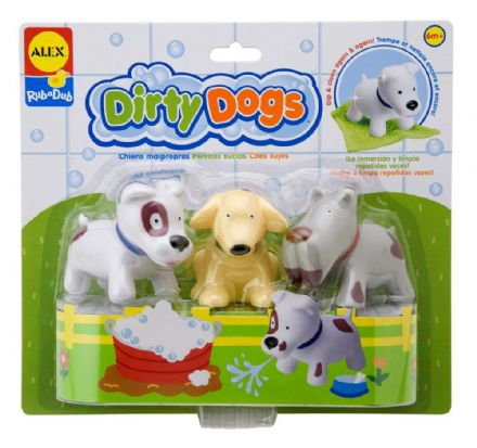 ALEX Bath Toys -  Dirty Dogs